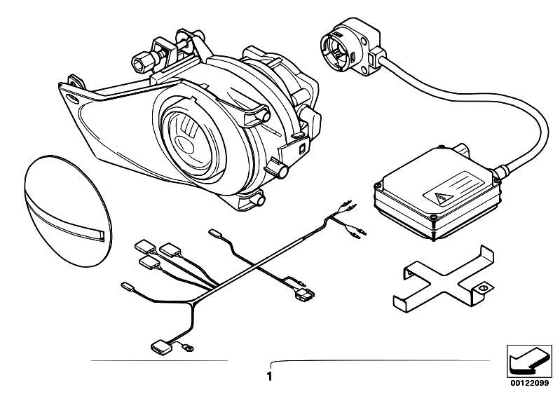 Original Parts for E60 530i N52 Sedan / Lighting/ Retrofit
