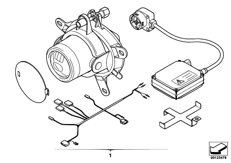 Original Parts for E46 320i M54 Touring / Lighting