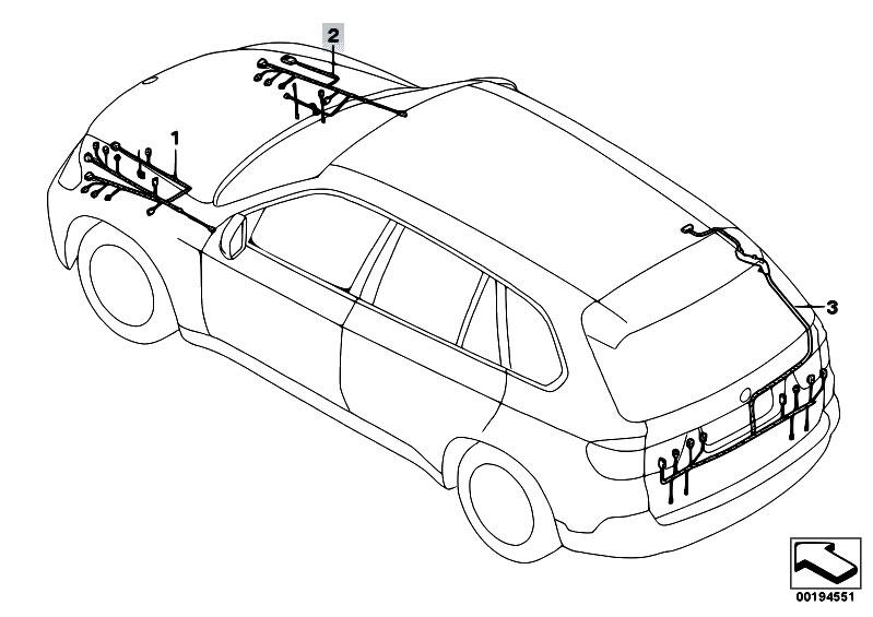 Original Parts for E70 X5 3.0d M57N2 SAV / Vehicle
