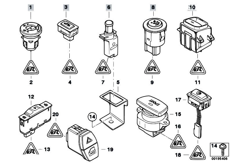 Original Parts for E93 335i N54 Cabrio / Vehicle