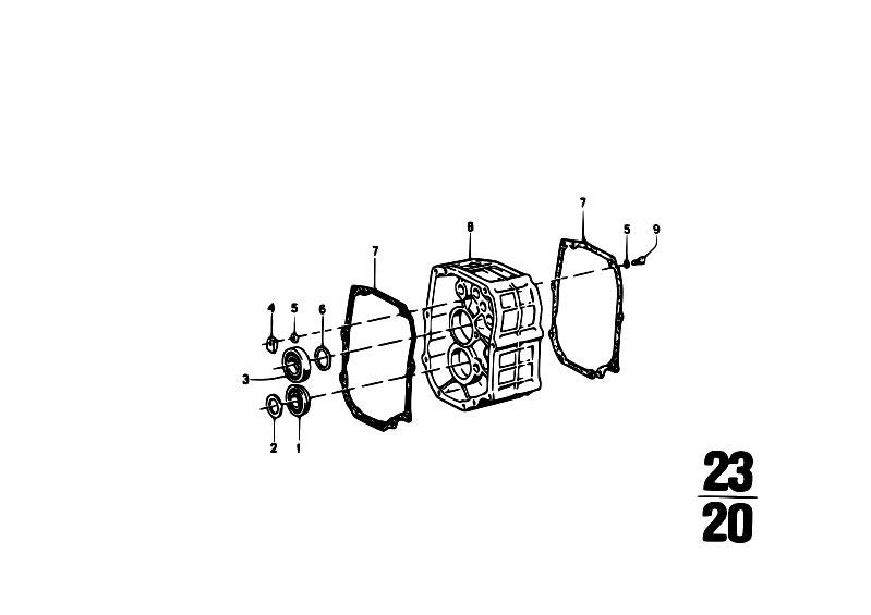 Original Parts for 114 2002ti M10 Sedan / Manual