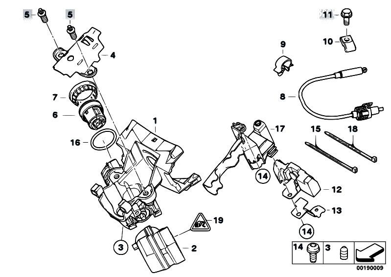 Original Parts for E53 X5 3.0i M54 SAV / Steering
