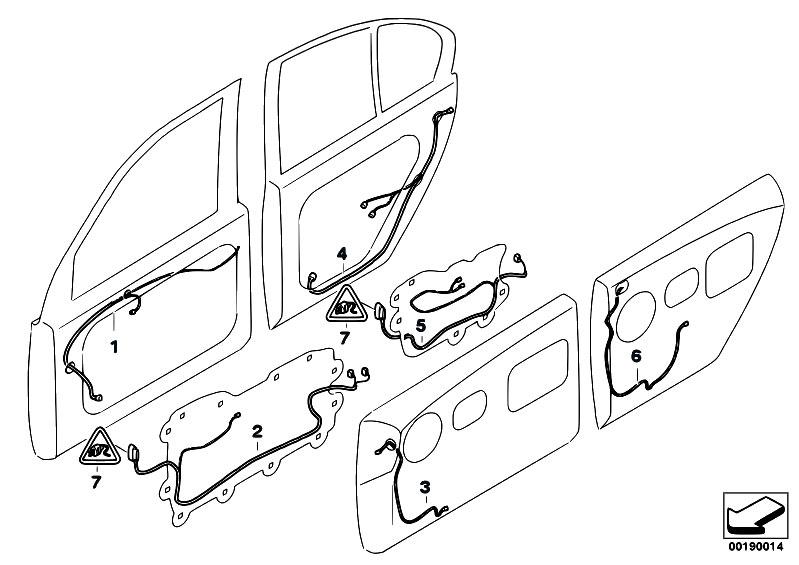 Original Parts for E66 745Li N62 Sedan / Vehicle