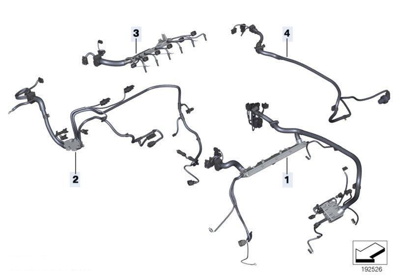 Original Parts for F01 740i N54 Sedan / Engine Electrical