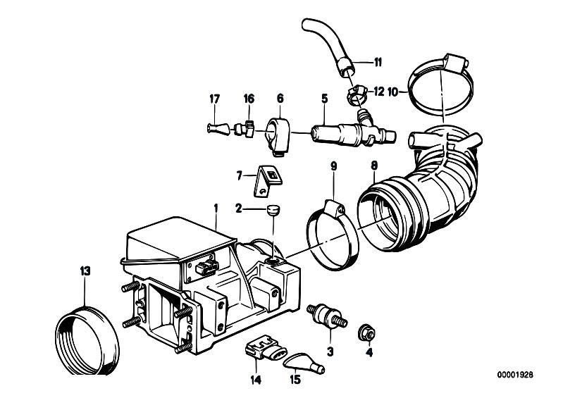 Original Parts for E30 325i M20 2 doors / Fuel Preparation