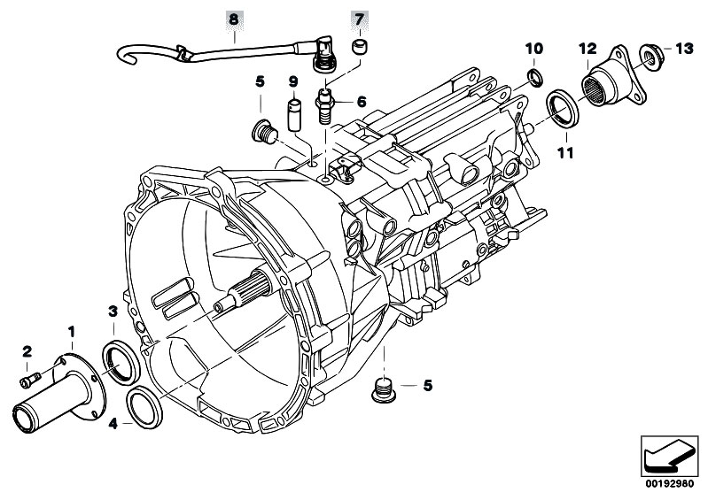 Original Parts for E90 325i N52 Sedan / Manual