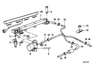Original Parts for E34 518i M40 Sedan  Fuel Preparation