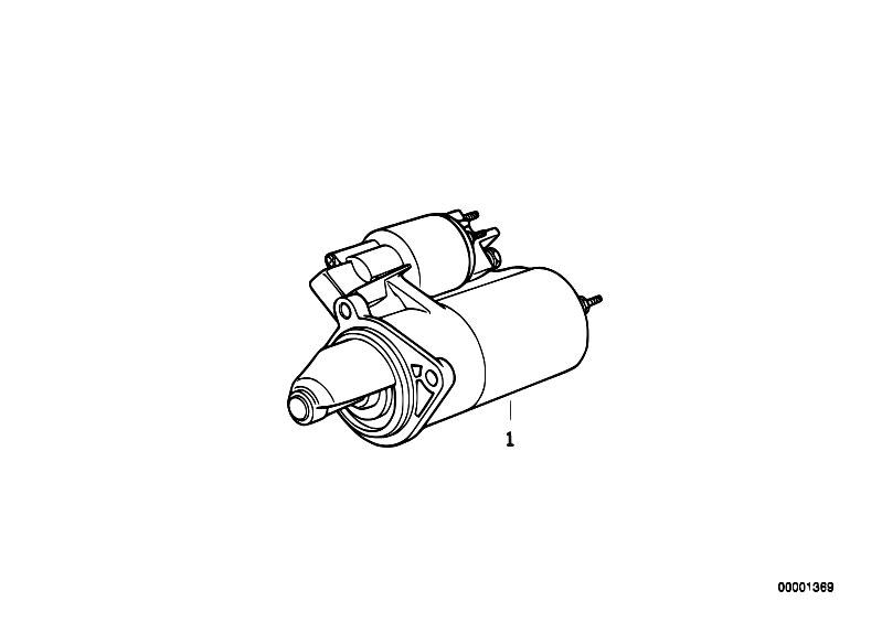 Original Parts for E12 520i M10 Sedan / Engine Electrical