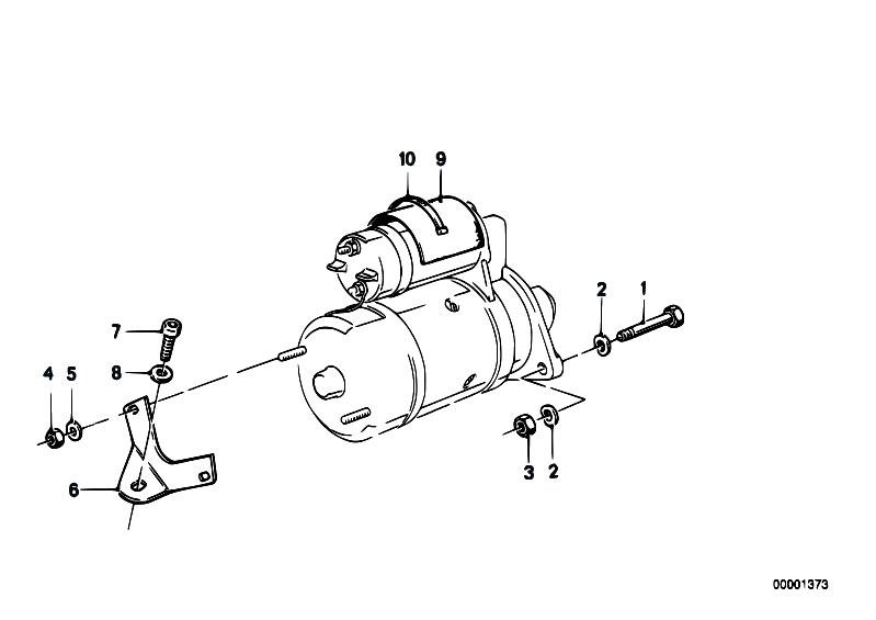 Original Parts for E36 328i M52 Cabrio / Engine Electrical