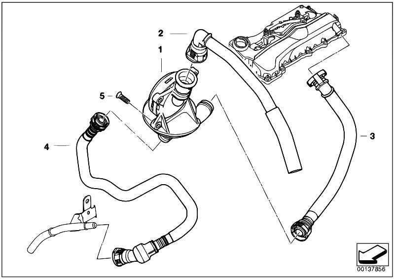 Original Parts for E90 320i N46 Sedan / Engine/ Crankcase