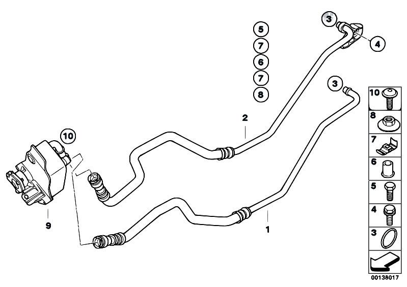 Original Parts for E90 320d M47N2 Sedan / Radiator/ Oil