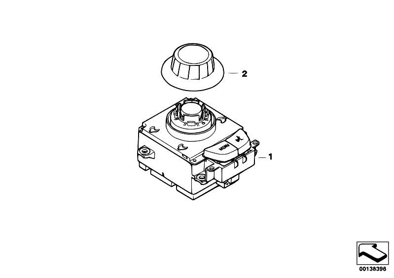 Original Parts for E87 130i N52 5 doors / Audio Navigation