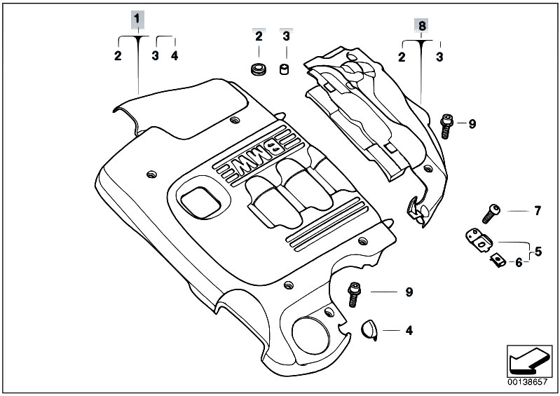 Original Parts for E46 320td M47N Compact / Engine/ Engine