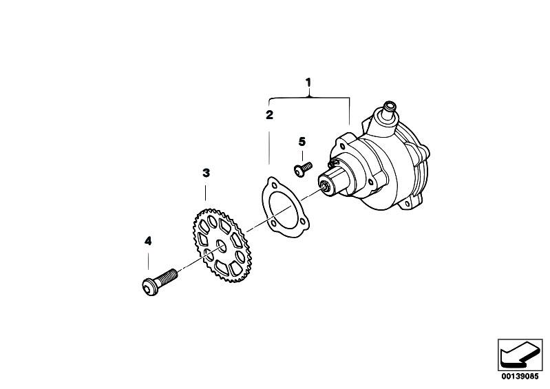 Original Parts for E91 330i N53 Touring / Engine/ Vacuum