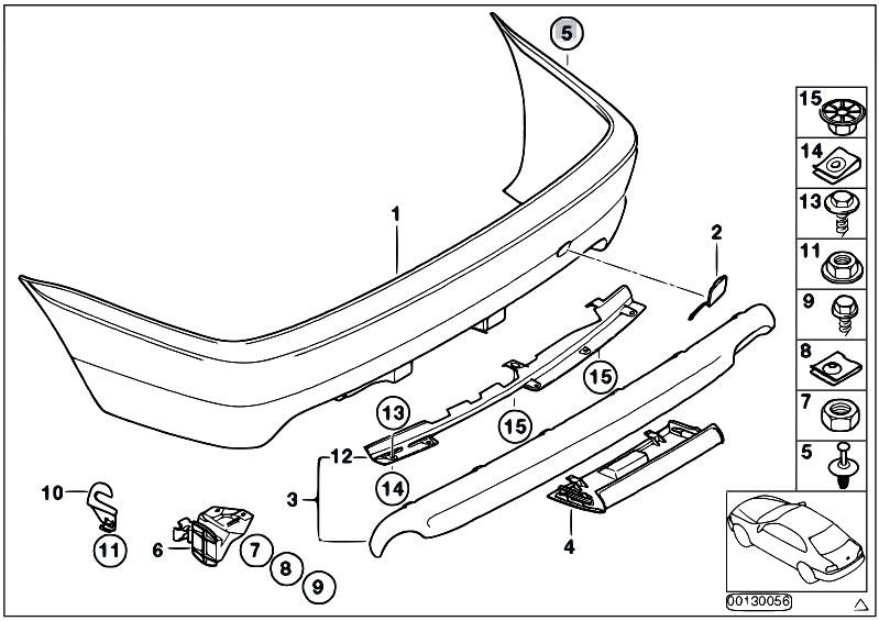 Original Parts for E46 318Ci N46 Coupe / Vehicle Trim/ M