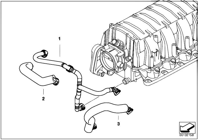 Original Parts for E60 545i N62 Sedan / Engine/ Crankcase