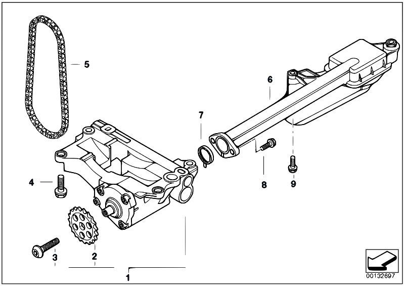 Original Parts for E46 330d M57 Touring / Engine