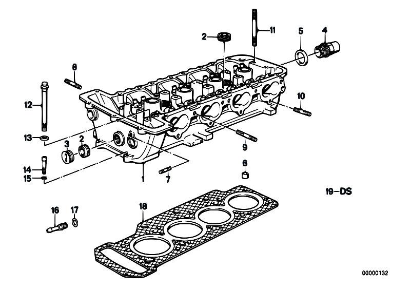 Original Parts for E30 M3 S14 2 doors / Engine/ Cylinder