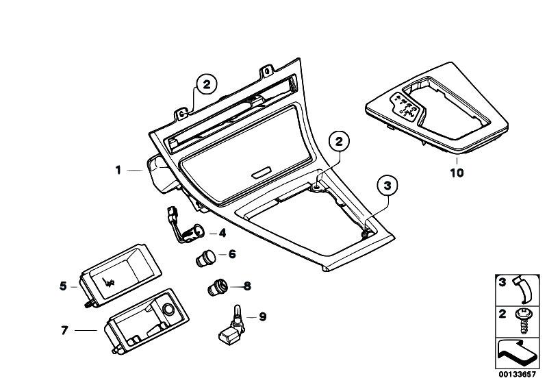 Original Parts for E83 X3 2.0i N46 SAV / Vehicle Trim