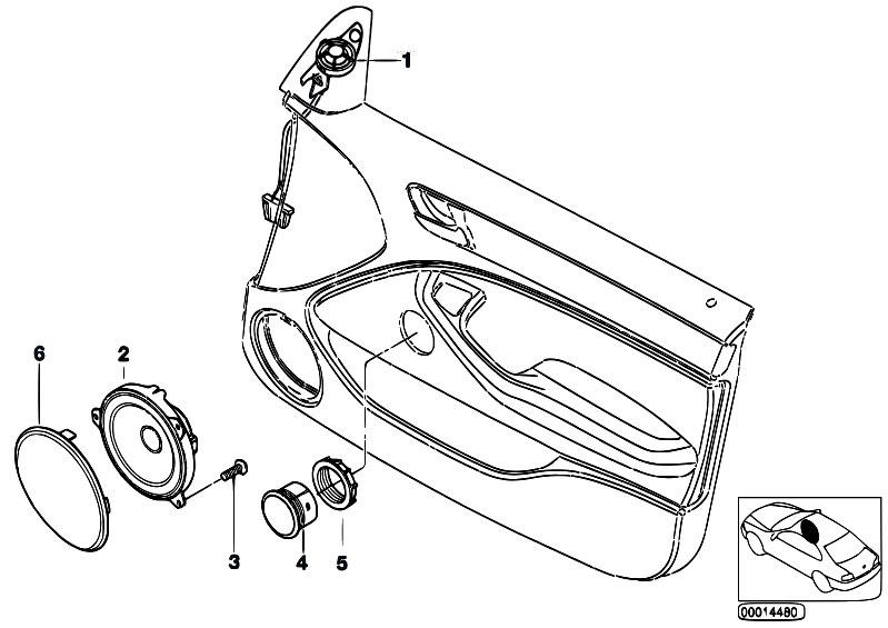 Original Parts for E46 325i M54 Touring / Audio Navigation