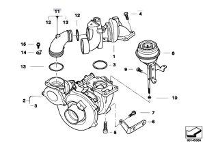 Original Parts for E60 535d M57N Sedan  Engine Turbo