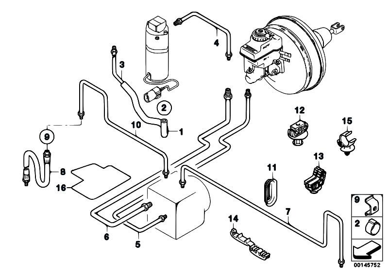Original Parts for E67 760LiS N73 Sedan / Brakes/ Brake