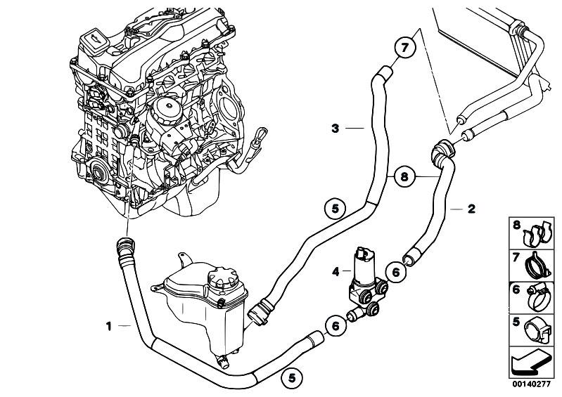 Original Parts for E90 318i N46 Sedan / Heater And Air