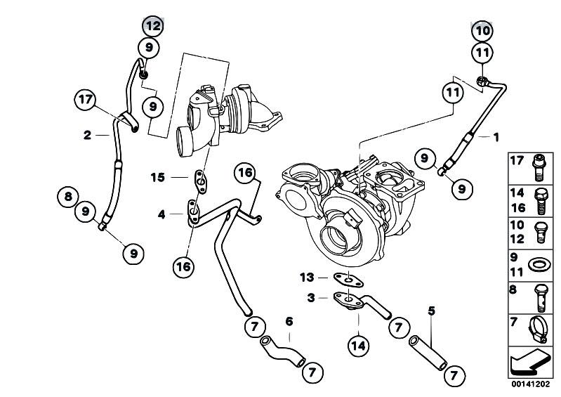 Original Parts for E60 535d M57N Sedan / Engine/ Oil