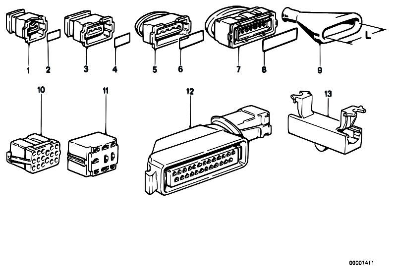 Original Parts for E30 316i M40 2 doors / Engine