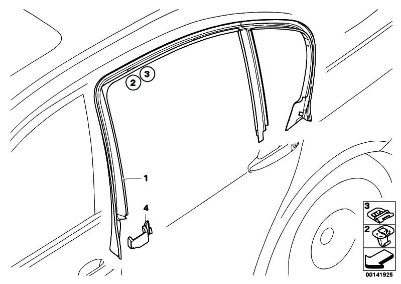 Original Parts for E90 330i N53 Sedan / Vehicle Trim