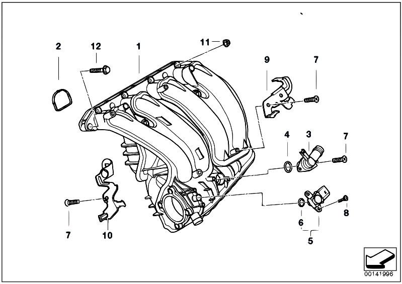 Original Parts for E90 318i N46 Sedan / Engine/ Intake