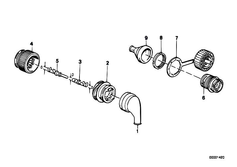 Original Parts for E30 M3 S14 2 doors / Engine Electrical