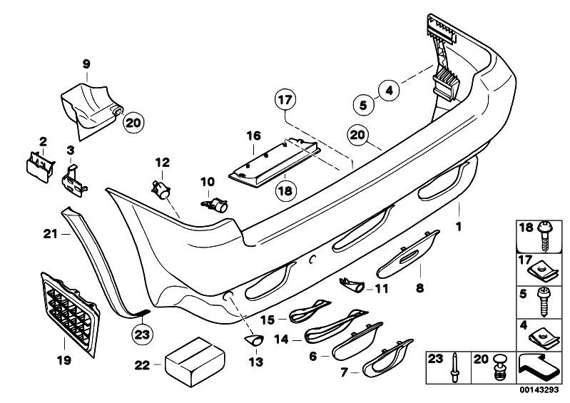 Original Parts for E53 X5 4.4i N62 SAV / Vehicle Trim