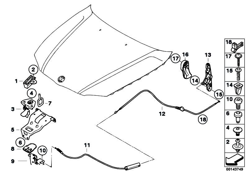 Original Parts for E87 116i N45 5 doors / Bodywork/ Engine