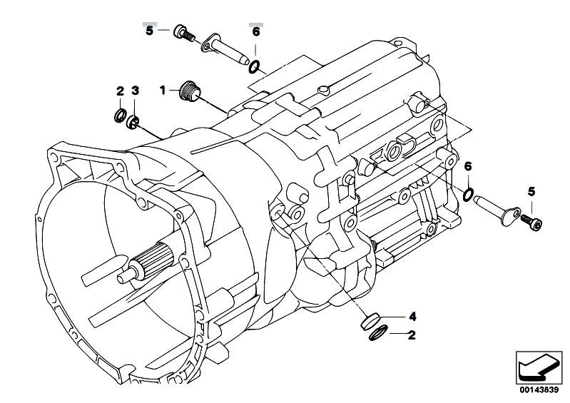 Original Parts for E90 M3 S65 Sedan / Manual Transmission