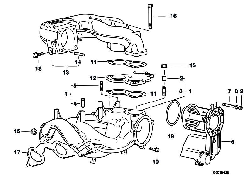 Original Parts for E36 318ti M44 Compact / Engine/ Intake