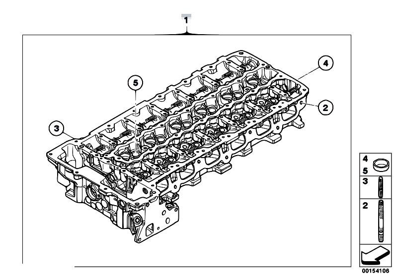 Original Parts for E90 325i N53 Sedan / Engine/ Cylinder