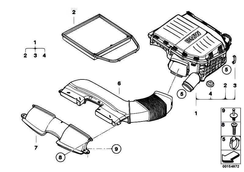 Original Parts for E90 335xi N54 Sedan / Fuel Preparation