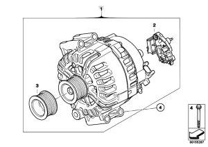 Original Parts for F01 740i N54 Sedan  Engine Electrical