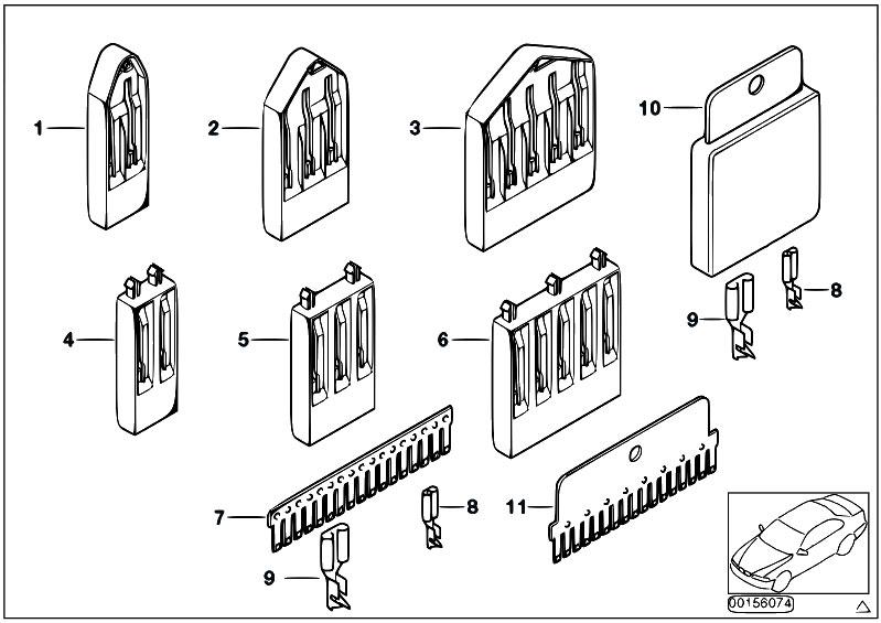 Original Parts for E39 520d M47 Sedan / Vehicle Electrical