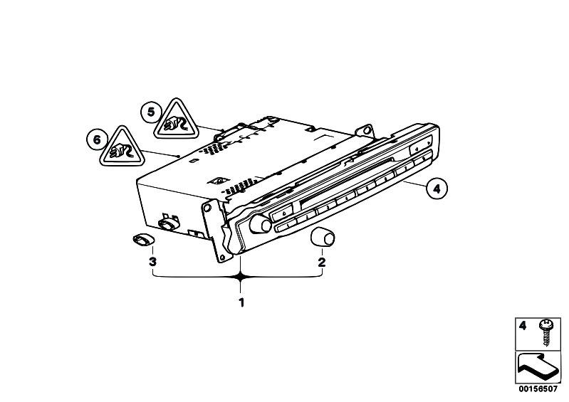 Original Parts for E70 X5 3.0si N52N SAV / Audio