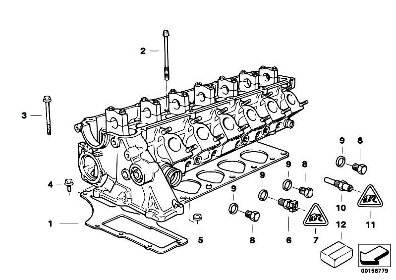 Original Parts for E39 525tds M51 Touring / Engine