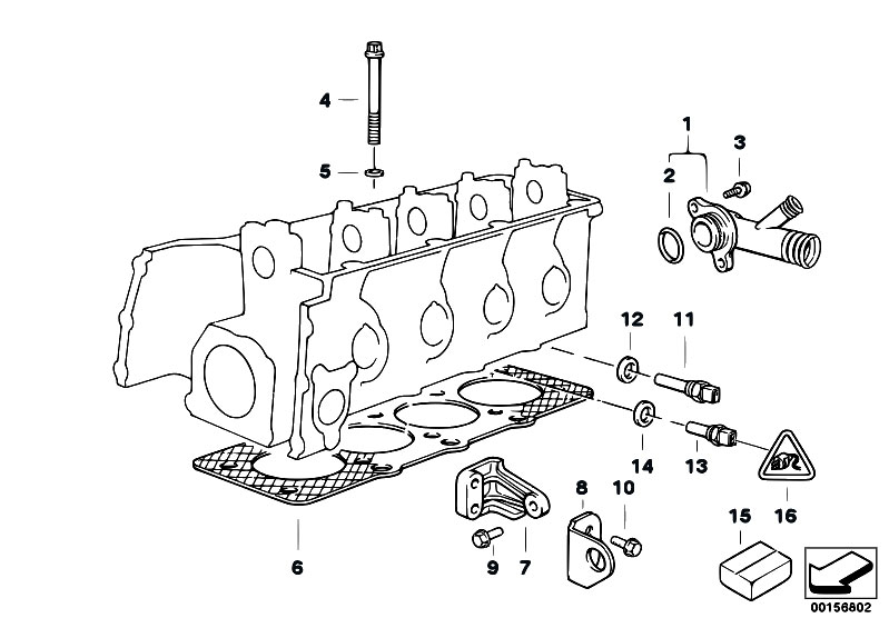 Original Parts for Z3 Z3 1.8 M43 Roadster / Engine