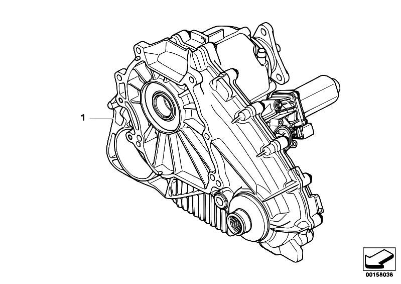 Original Parts for E70 X5 3.0d M57N2 SAV / Transfer Box