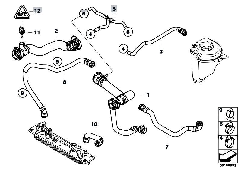 Original Parts for E70 X5 4.8i N62N SAV / Radiator