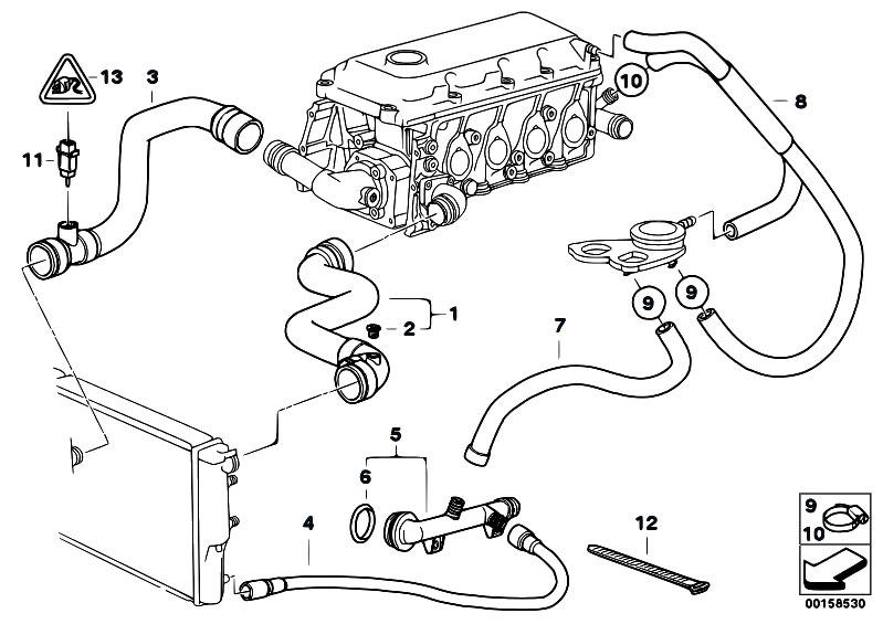 Original Parts for E46 318i M43 Touring / Engine/ Cooling