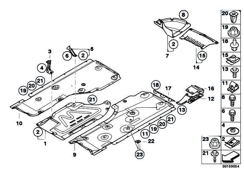 Original Parts for E88 118d N47 Cabrio / Vehicle Trim