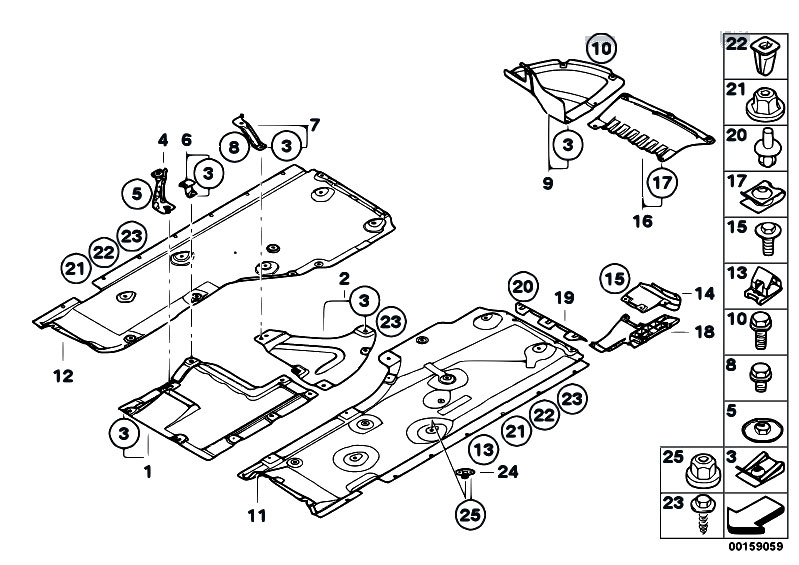 Original Parts for E82 125i N52N Coupe / Vehicle Trim