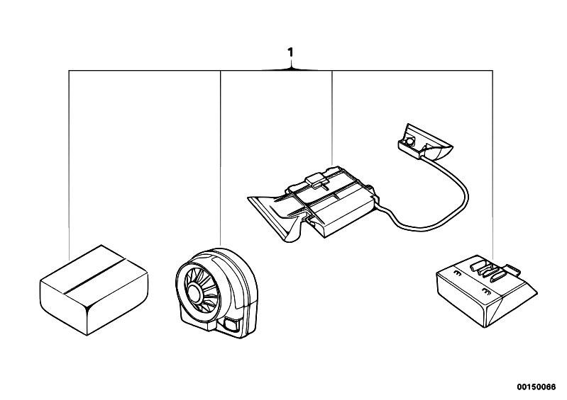 Original Parts for E53 X5 3.0i M54 SAV / Audio Navigation