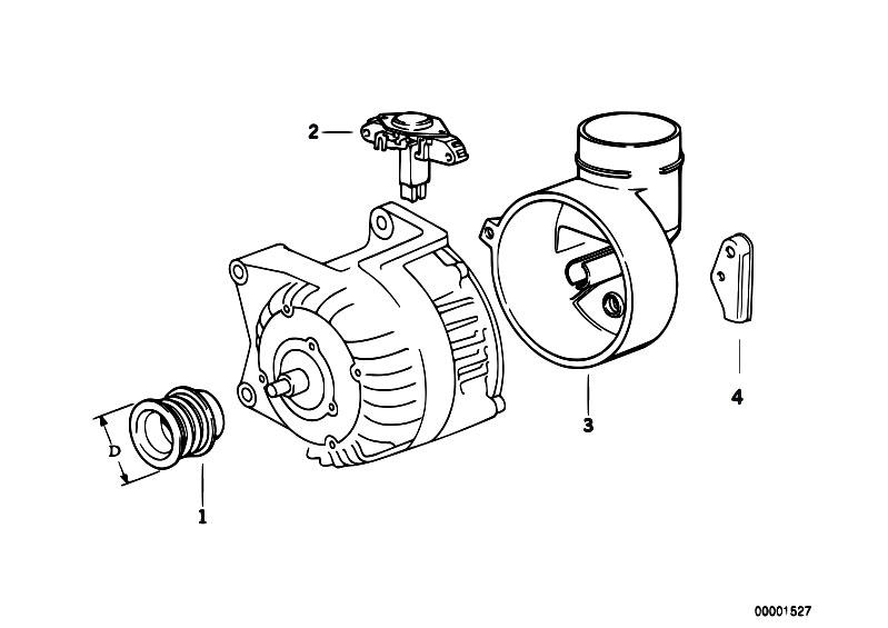 Original Parts for E36 325i M50 Cabrio / Engine Electrical